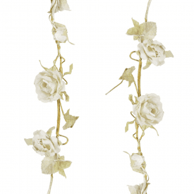 Rose Garland Cream
