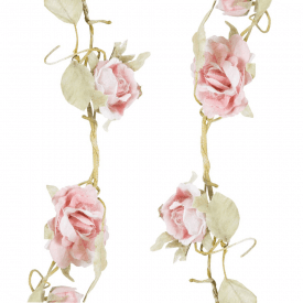 Rose Garland Light Pink