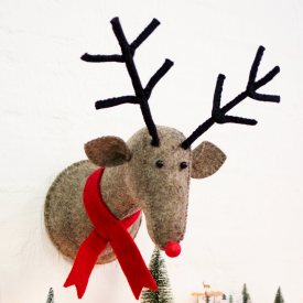 Rudi the Reindeer Wall Decoration