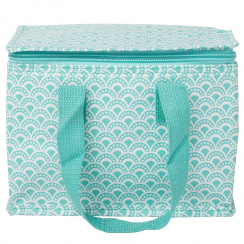 Salma Moroccan Geometrics Lunch Bag Blue