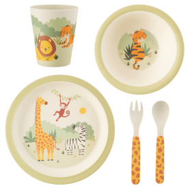 Savannah Safari Bamboo Tableware Set