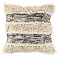 Scandi Boho Tufted Stripe Cushion