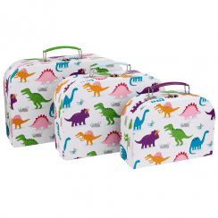 Set of 3 Roarsome Dinosaurs Suitcases