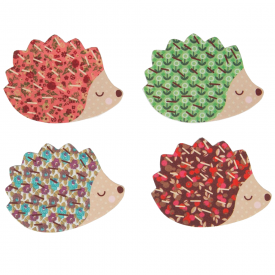 Set of 4, Hedgehog Nail Files
