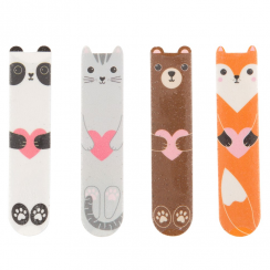 Set of 4 Kawaii Friends Nail Files
