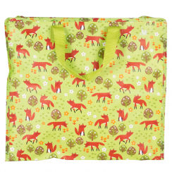 Spring Forest Fox Storage Bag