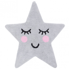 Sweet Dreams Grey Star Rug