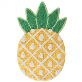 Tropical Funky Pineapple Rug
