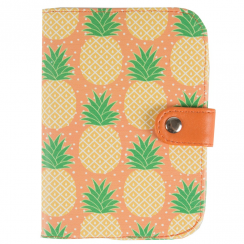 Tropical Pineapple Passport Holder