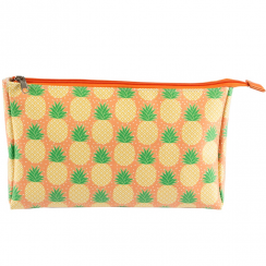 Tropical Pineapple Wash Bag