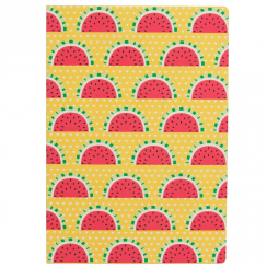 Tropical Summer Watermelon A5 Notebook