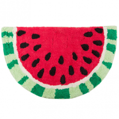 Tropical Watermelon Slice Rug