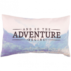 Wanderlust Adventure Cushion with Inner