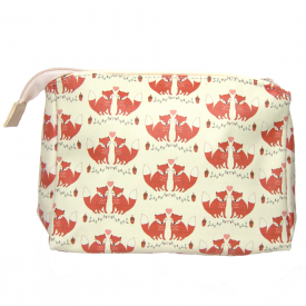 Woodland Fox, Make Up Bag