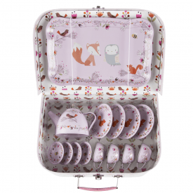 Woodland Friends Picnic Box Tea Set