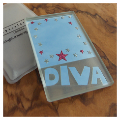 Diva Starry Dinky Mirror