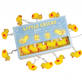 String Of 10 Little Chicks Party Lights