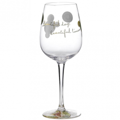 Beautiful Times Wine Glass