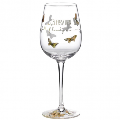Celebration Gift Boxed Wine Glass