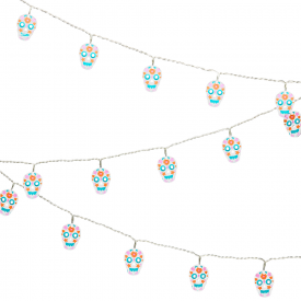 Sugar Skulls String LED Lights