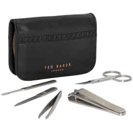 Black Brogue Manicure Set