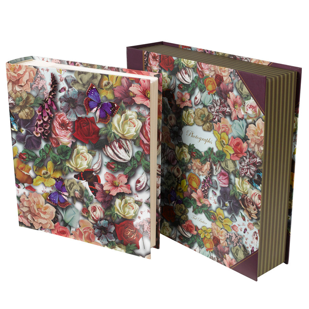 ted baker floral photo album