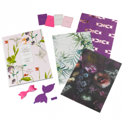 Oriental Bloom Gift Wrap Book