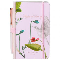 Oriental Bloom Mini Notebook & Pen