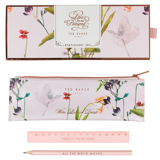 334acbf2e36c Ted Baker Oriental Bloom Stationary Set at Flamingo Gifts.