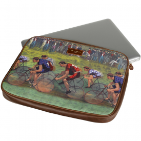 "Vintage Bike 13"" Laptop Sleeve"