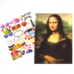 Design your own Card Mona Lisa