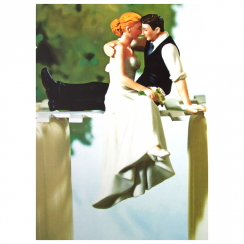 In Love Wedding Toppers Card