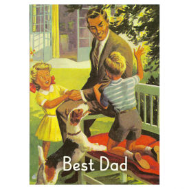 Ladybird Best Dad Card