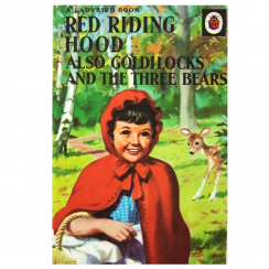 Ladybird Red Riding Hood Card