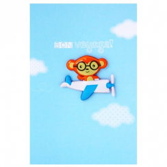 Leaving Card Jelly Magnet Card