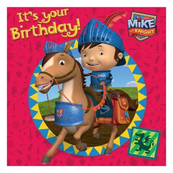 Mike The Knight Birthday Card