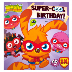Moshi Monsters Super Cool Birthday Card