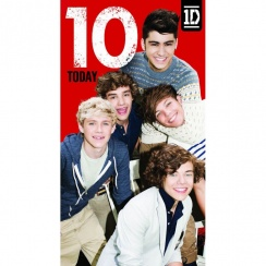 One Direction Age 10 Card