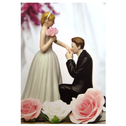 Prince Charming Wedding Toppers Card