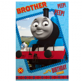 Thomas the Tank Large Brother Birthday Card