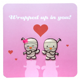 Wrapped up in You Jellys Card