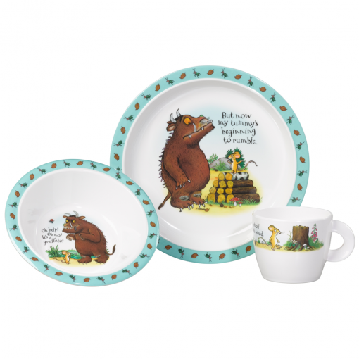The Gruffalo 3 Piece Melamine Dinner Set  sc 1 st  Flamingo Gifts & The Gruffalo Melamine Dinner Set @ flamingo gifts.