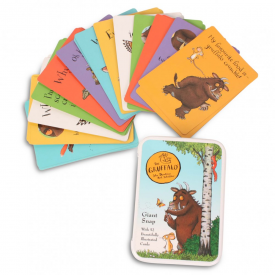 Giant Colourful Snap Cards in Tin