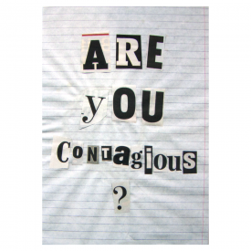 Are You Contagious Card