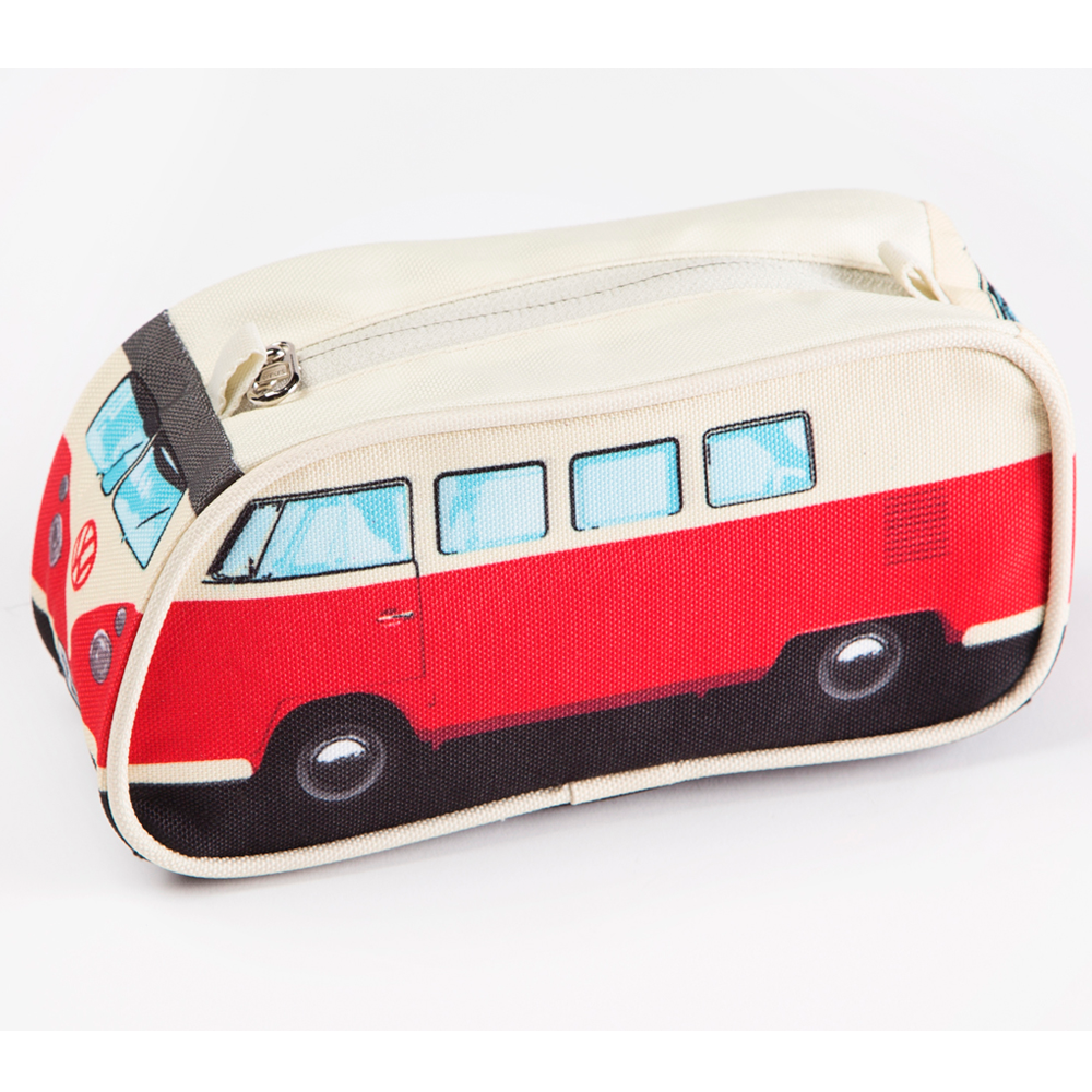 Red Vw Camper Pencil Case Flamingo Gifts