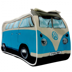 VW Camper Van Wash Bag Blue