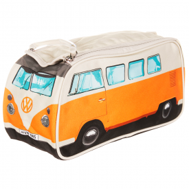 VW Camper Van Wash Bag Orange