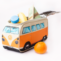 VW Campervan Insulated Orange Lunch Bag