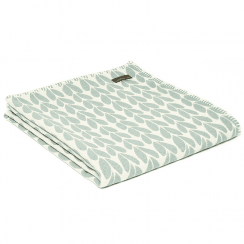 Organic Cotton Sycamore Duck Egg Throw