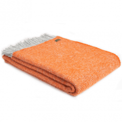 Pure New Wool Boa Pumpkin Throw